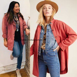 Anthropologie Jackets & Coats - RARE NWT ANTHROPOLOGIE Dover Longline Jacket
